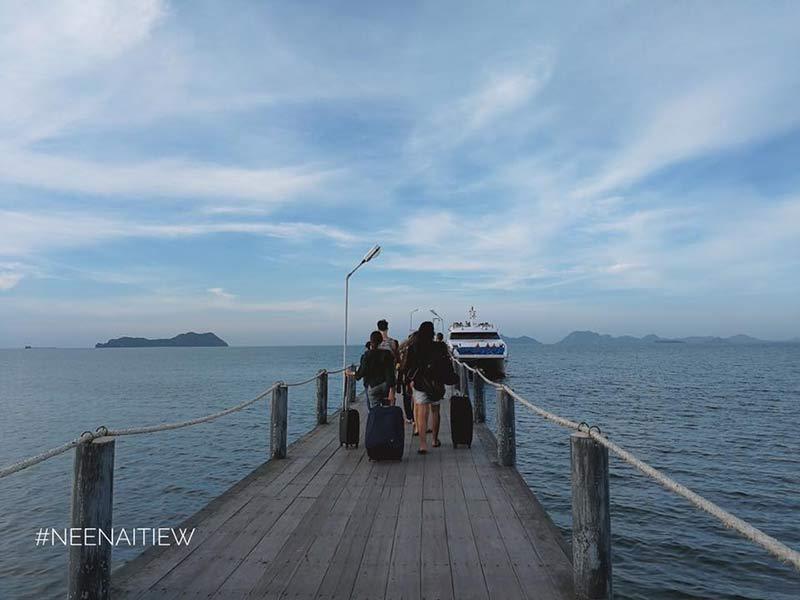 เดินทางไปเกาะเต่า
